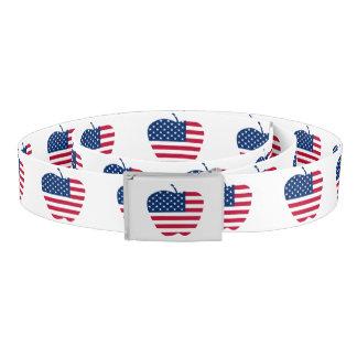 The Big Apple America flag NYC Belt
