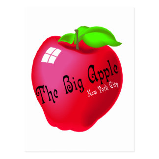 The Big Apple Post Card