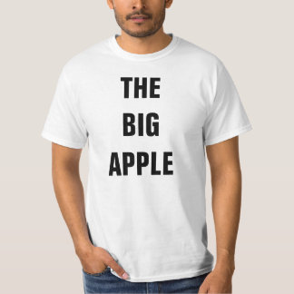 The big apple tee shirts