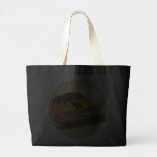 The Big Bad Orange Jumbo Tote Bag