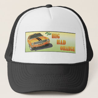 The Big Bad Orange Trucker Hat