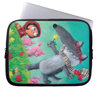The Big Bad Wolf Laptop Sleeve