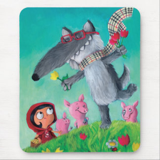 The Big Bad Wolf Mouse Mat