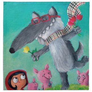 The Big Bad Wolf Napkin