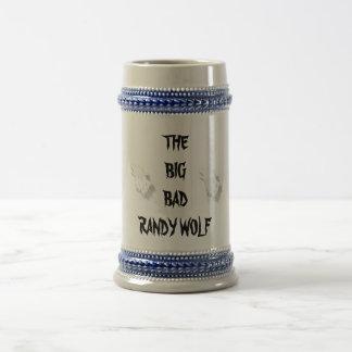 THE BIG BADRANDY WOLF BEER STEIN