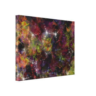 The Big Bang - Abstract Art Gallery Wrap Canvas