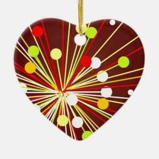 The Big Bang Ceramic Heart Decoration