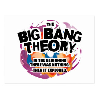 The Big Bang Theory Postcard