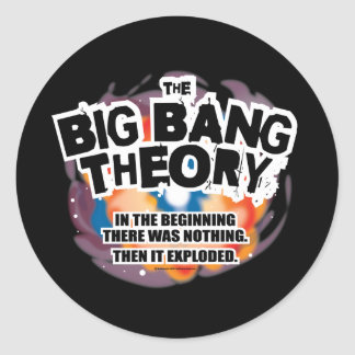 The Big Bang Theory Round Stickers