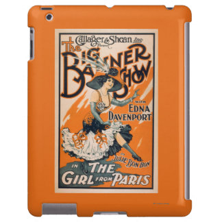 "The Big Banner Show ""The girl from Paris"" iPad Case"