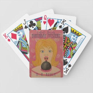 The Big Birthday Mystery: Parody Book Cover Poker Cards