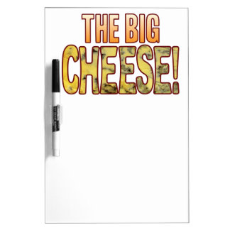 The Big Blue Cheese Dry Erase Board