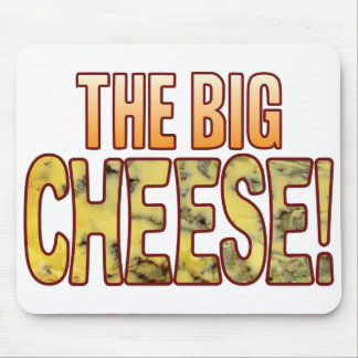 The Big Blue Cheese Mouse Mat