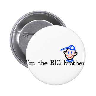 The Big Brother 6 Cm Round Badge