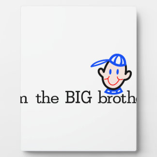 The Big Brother Photo Plaques