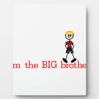 The BIG Brother Photo Plaque