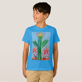 "The ""Big Cactus"" boys T by Liam Myers T-Shirt"