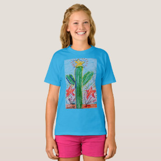 "The ""Big Cactus"" girls T by Liam Myers T-Shirt"