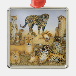 The Big Cats Christmas Ornament