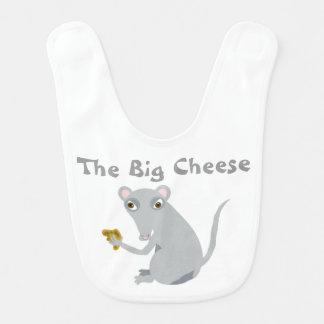 The Big Cheese Baby Bib Bibs