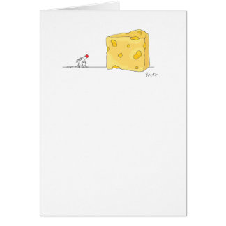 THE BIG CHEESE birthday by Boynton Greeting Card