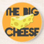The BIG CHEESE! Drink Coaster
