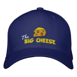 The Big Cheese Embroidered Hat