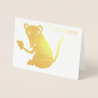 The Big Cheese Foil Card