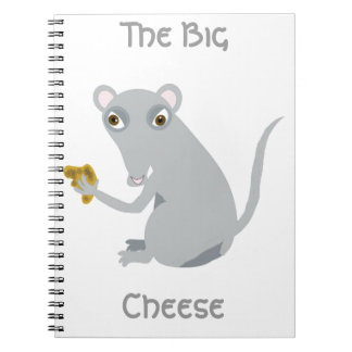 The Big Cheese Spiral Notebooks