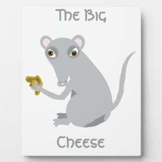 The Big Cheese Display Plaques