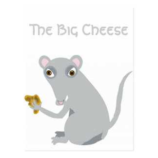 The Big Cheese Postcard
