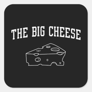 The Big Cheese Square Sticker