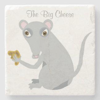 The Big Cheese Stone Coaster