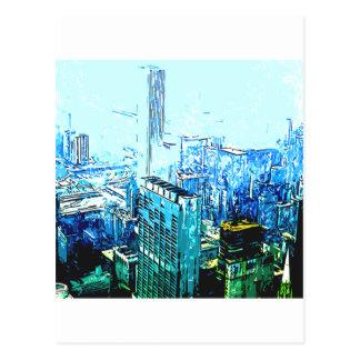 The Big City Postcard