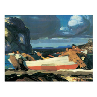 The Big Dory, George Bellows 1913 Postcard