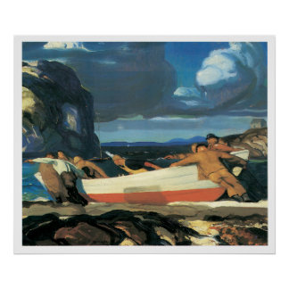 The Big Dory, George Bellows 1913 Poster