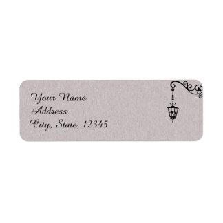 The Big Easy Wedding Label Return Address Label