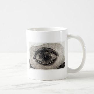 The Big Eye Basic White Mug