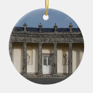 The Big House Round Ceramic Decoration