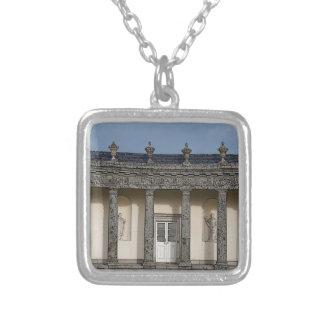 The Big House Square Pendant Necklace
