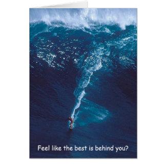 The Big Kahuna - A Surfer's Birthday Greeting Card
