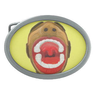 The Big Mouth Belt Buckle