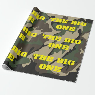 """The Big One Camo Wrapping Paper 30""""x6'"""