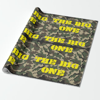 "The Big One Camo Wrapping Paper 30""x6'"