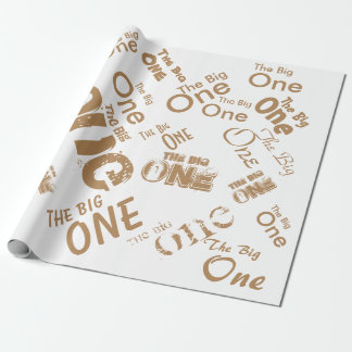 """The Big One Wrapping Paper 30"""" x 6'"""