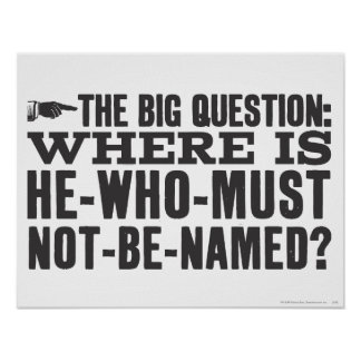 The Big Question Poster
