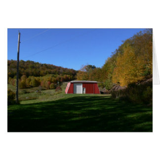 The Big Red Barn Greeting Card
