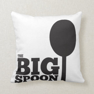 The big spoon pillow cushion