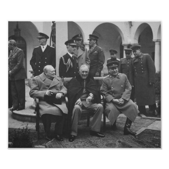 The Big Three During Yalta Conference -- WW2