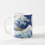 The big wave of  Kanagawa Katsushika Hokusai Coffee Mug